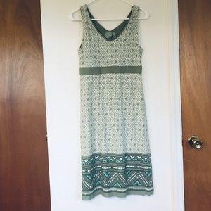 Athleta dress summer pattern sleeveless Medium